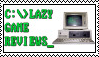 Lazy Game Reviews (LGR) Stamp by The-Thin-Ice