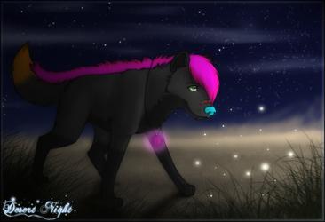 Desert Night by Aleu-Light