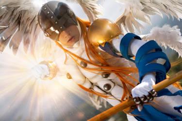 Angemon - Heaven's Knuckle by rocha86