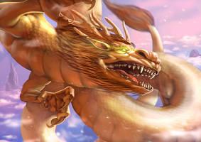 dragon ryu by crutz