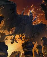 Winged demon alucard by crutz