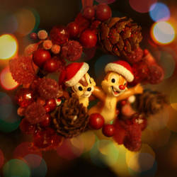Chip and Dale Wish You... by Anawielle