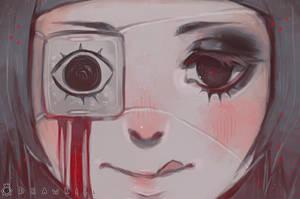 Eyepatch [+SPEEDPAINT] by DrawKill