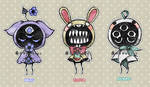 Eyeball Puppets MAR [CLOSED] by DrawKill