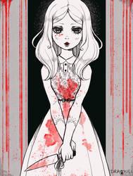 [Day 7]  Death Like Crimson by DrawKill