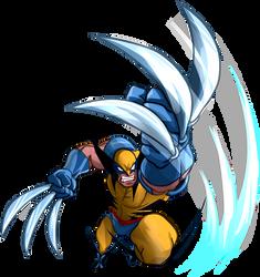 Mavel vs Capcom Wolverine by fan4battle