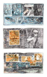 Puente Storyboard pg 10 to 15 by carbono14