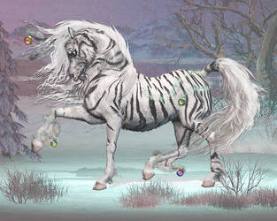 Holiday Unicorn 2012 first try by Daio