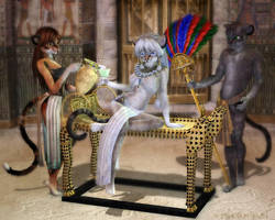 Queen Of Cattitude by Daio
