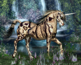 Clouded Unicorn by Daio