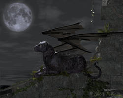Panther Moon by Daio