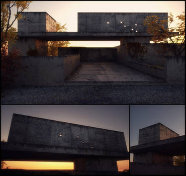 Brutalism, in autumn by AlexCom