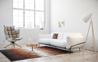 Simply Nordic - Living Room by AlexCom