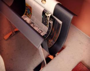 FFR Livingroom Leather Holder by AlexCom