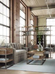 Industrial Interior by AlexCom