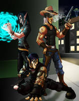 Shadowrun Elves Redux by DeuceOhNegative
