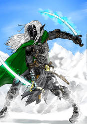 Drizzt Do'Urden FINISHED by DeuceOhNegative