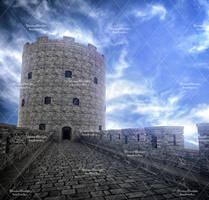 Castle Stock Background by bonbonka