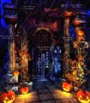 Halloween Stock Background by bonbonka