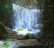 Poison Ivy Domain Stock Background 2 by bonbonka