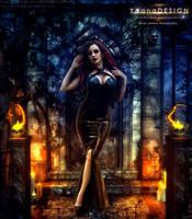 Dark Halloween is Here by bonbonka
