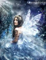 Winter Fairy by bonbonka