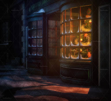 Dark Christmas Stock Background 3 by bonbonka