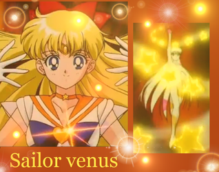 Sailor venus wallpaper by IZluver87