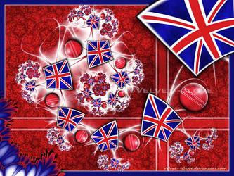 Postcard from England by Velvet--Glove