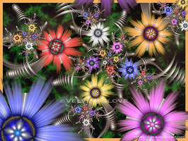 Zebedee's Spring Garden by Velvet--Glove