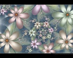 Garden of Tranquility by Velvet--Glove