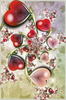 Love Hearts by Velvet--Glove