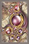 Marbled Gems by Velvet--Glove
