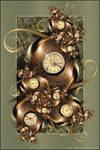 Fractal Timepiece by Velvet--Glove