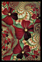 Burgundy Bloomers by Velvet--Glove