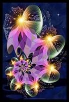 Harlequin Lights by Velvet--Glove