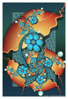 Evolving Structure by Velvet--Glove