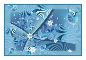 Gently Falling Snow by Velvet--Glove