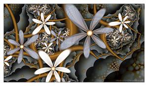 UF Chain Pong 319 - Flower Dream by Velvet--Glove