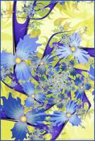 UF Chain Pong 685 - Summer Blues by Velvet--Glove