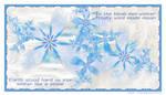In the bleak mid-winter by Velvet--Glove