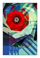 UF Chain Pong 786 - Red Moebirose by Velvet--Glove