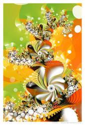 Fruit Smoothie by Velvet--Glove
