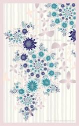 UF Chain Pong 974 - Flower Shower by Velvet--Glove