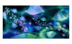 UF Chain Pong 986 - Bluebell Line by Velvet--Glove