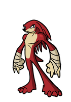 Knuckles the echidna by alorix