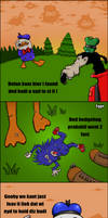 Dolan and Gooby in Forest by 1gga