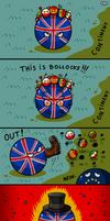 Britain Ball Has Had Enough by 1gga