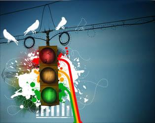 Traffic Light by r-fl