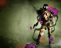 Toxic Behavior - Wallpaper by r-fl